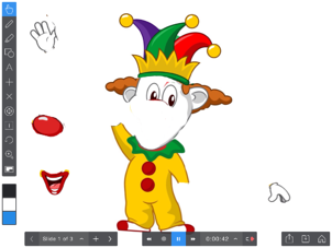"""Let's make a clown!"""